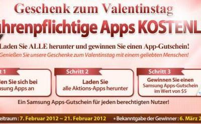 samsung apps aktion 2012
