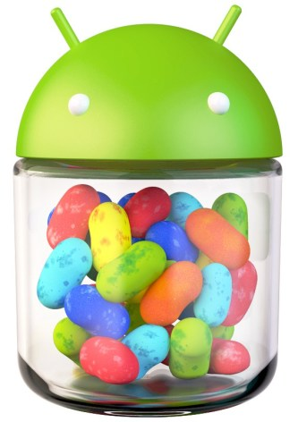 jelly bean android logo