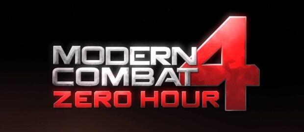 Modern Combat 4 Zero Hour header