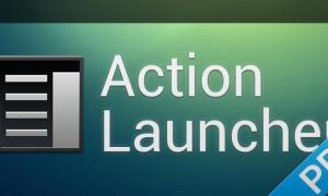 action launcher