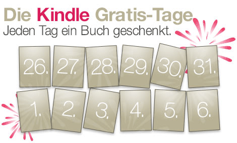 Amazon Kindle Gratis Tage