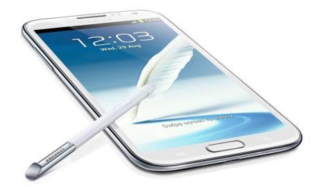 Galaxy Note II Header