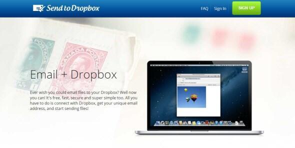 send 2 dropbox