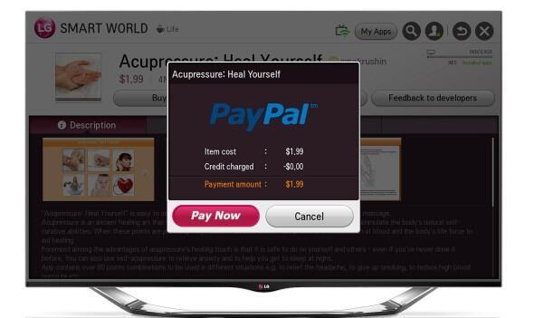 Bild LG Bezahlung mit PayPal