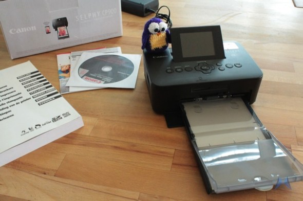 Canon Selphy CP 900 Pocket Printer IMG_2120