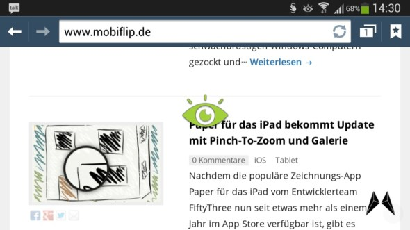Samsung Galaxy S4 Browser 2013-05-10 14.30.35