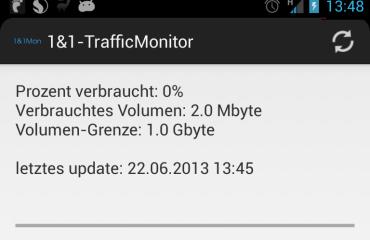 1und1 TrafficMonitor