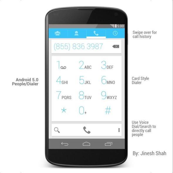 Android 5.0 Dialer (Kopie)