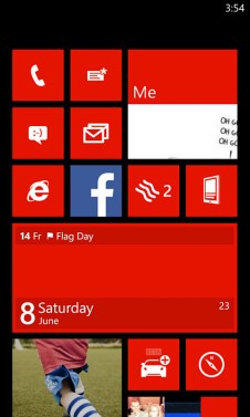 windows phone blue 16