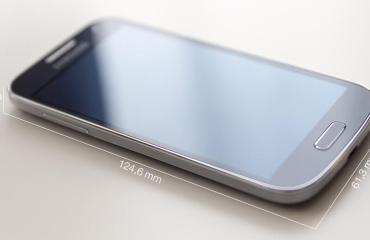 Galaxy S4 mini Abmessungen