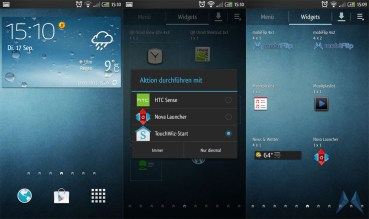 TouchWiz HTC One