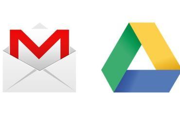 Gmail Google Drive Header