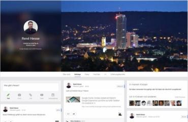 gplus profil design