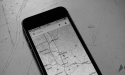 iPhone Maps Karten Header