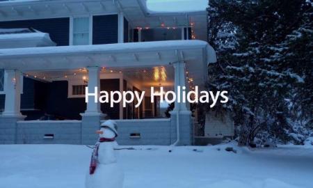 Apple Happy Holidays