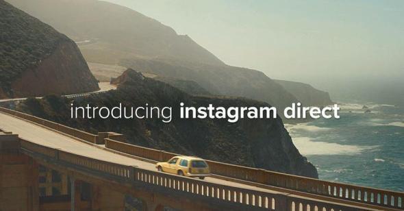 Instagram Direct Header