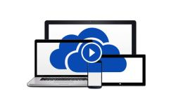 Microsoft OneDrive Logo Header
