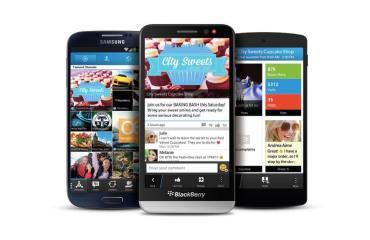 BlackBerry Messenger BBM Header