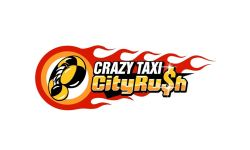 Crazy Taxi City Rush Logo Header