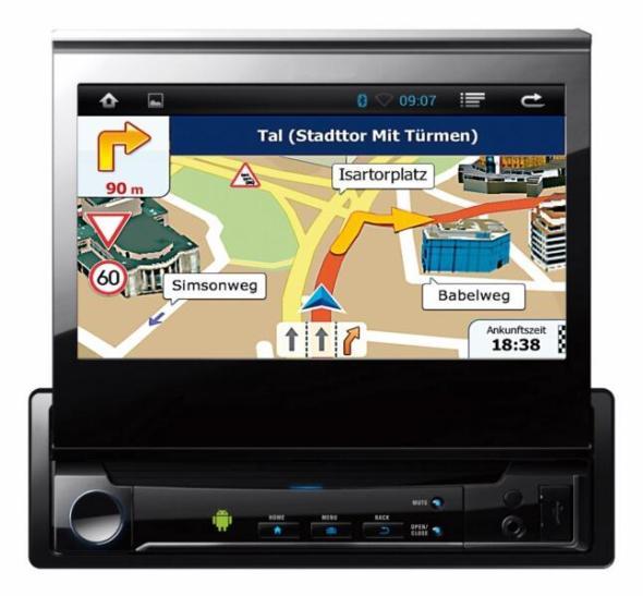 navgear 1 din android autoradio mit gps wifi und mirrorlink vorgestellt. Black Bedroom Furniture Sets. Home Design Ideas