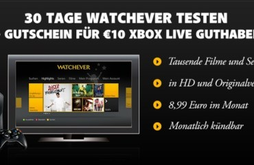 watchever xbox aktion 1
