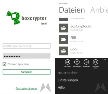 Boxcryptor Windows Phone 8 (14)