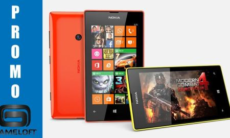Gameloft Lumia Aktion