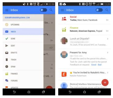 Gmail Android Screenshots