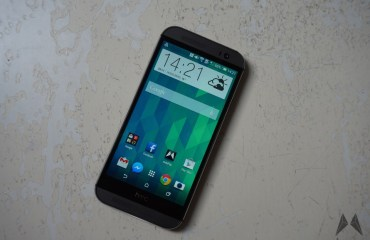 HTC One M8 Frontseite