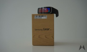 Samsung Gear Fit Header