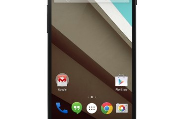 Android L Nexus 5 Header