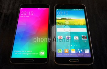 Samsung Galaxy F vs Galaxy S5 Header