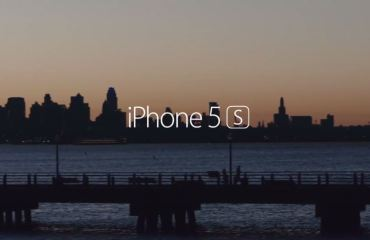 iPhone 5s Werbung Header