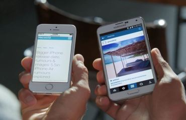 Samsung Galaxy S5 vs. iPhone 5s