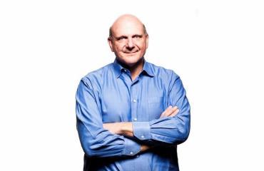 Steve Ballmer MIcrosoft Header