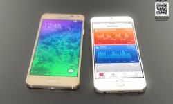 iPhone 6 vs Galaxy Alpha Konzept Header