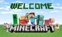 Microsoft Minecraft Header