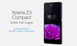 Sony Xperia Z3 Compact Werbung iPhone