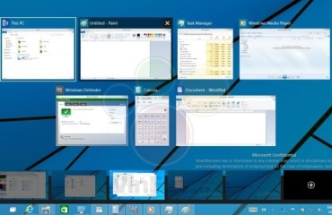 Windows 9 Multi-Desktops