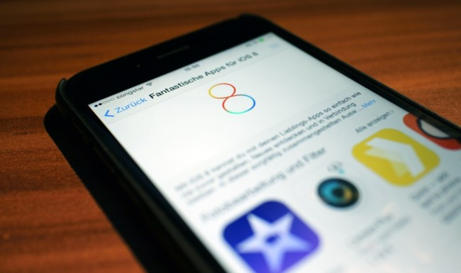 iOS 8 Apps Header