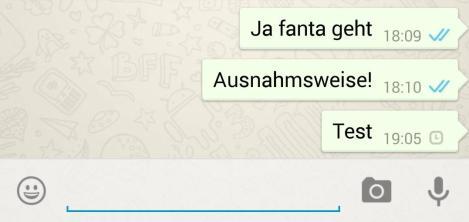 whatsapp screen haken