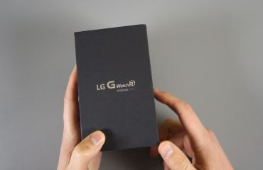 G Watch R Unboxing