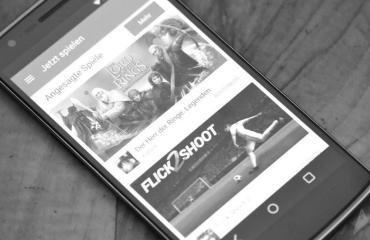 Google Play Games Material-Design Header