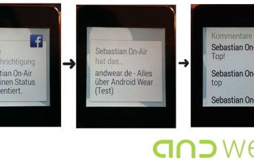 Facebook Android Wear