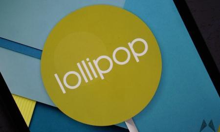 Android Lollipop Header