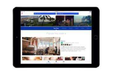 Foursquare iPad Header