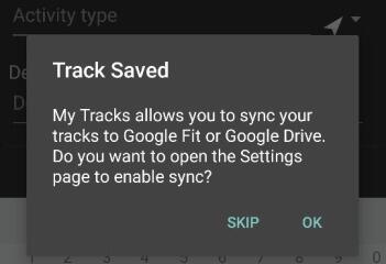 Meine Tracks Google Fit 01