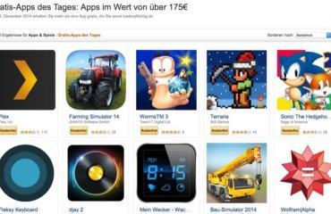 gratis apps xmas amazon android