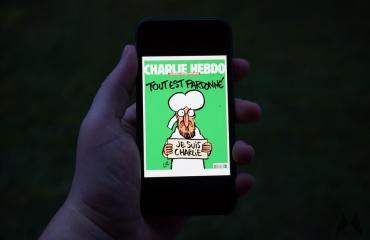 Charlie Hebdo App Header
