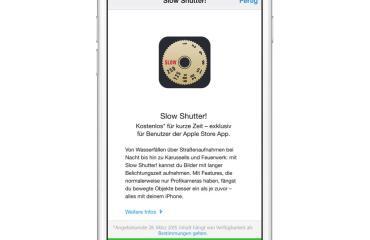 Slow Shutter iOS